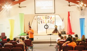Chapel Time with Camp Pastor, Phillip McClung